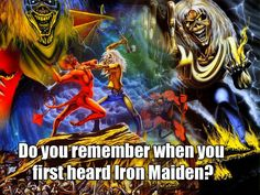 What was the first song you heard of #ironmaiden? -I was 15 and fell hopelessly in love 🤘🏻