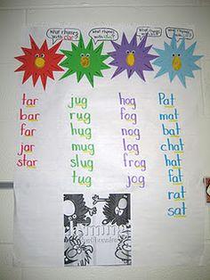 Rhyming Idea with Rhyming Dust Bunnies!