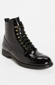 Dolce Gabbana  Milano  Cap Toe Boot Black 8US   41EU Review Buy Now