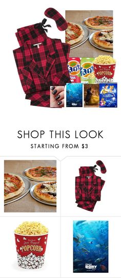 """""""Movie 🎥 night"""" by isabellefashion23 ❤ liked on Polyvore featuring Sur La Table, Victoria's Secret, West Bend and Disney"""