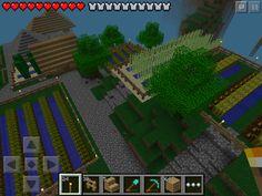 Minecraft Pe Garden Ideas ☯ minecraft - gardening 101 - backyard garden - tutorial #1 (hd