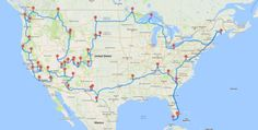 5 Epic Road Trip Maps That Tackle a Lifetime of Sightseeing in One Go — Daily 5