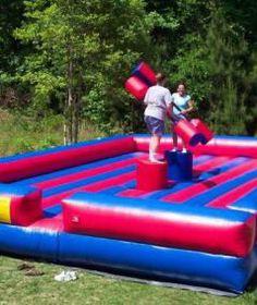 Inflatable Gladiator Duel   Mega Fun