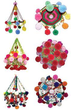 Goegeous paper chandelier Pajaki