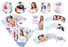 Kit Violetta da Disney Violetta Disney, Disney Cakes, Candy Table, 1, Activities, Birthday, Party, Kids, Irene