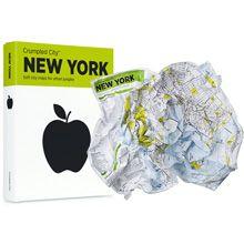 Crumpled City Map - New York på BLUEBOX.se - Massor av presenter och roliga prylar. Snabb leverans!