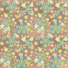 CH.B *✿* wallpaper texture pattern floral