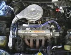 4AE stock engine Toyota, Engineering, Architectural Engineering