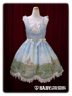 Fairy Topialium ~ Promise in the Forest of Trifolium~ Pratense jumper skirt - sax blue | #BtSSB #BabyTheStarsShineBright