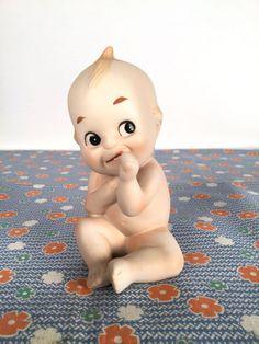 Vintage 60s Kewpie Doll Thumbsucker An by iandrummondstash on Etsy