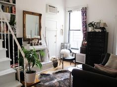 I picture our Chicago apartment looking like this. quaint.