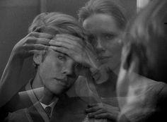 "Bibi Andersson and Liv Ullmann in ""Persona"" (1966, Ingmar Bergman) / DoP: Sven Nykvist"
