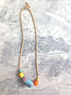 Noni for Darling Clementine Wood Bead Necklace