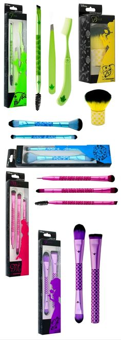Disney x Soho Brush Sets for Spring 2016 | http://www.musingsofamuse.com/2016/01/disney-x-soho-brush-sets-for-spring-2016.html