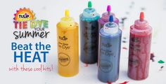 The Official Store for Tulip Tie-dye Products. Learn how to tie dye with our easy instructions and various techniques. Create all your favorite tie-dye designs with 1 kit. Tulip Tie Dye, How To Tie Dye, Tie Dye Designs, Kids Playing, Fun Stuff, Alphabet, Things To Do, Projects To Try, Crafty