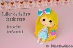Taller de fieltro desde cero: muñeca infantil | Aprender manualidades es facilisimo.com