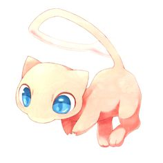 Pokemon-mew-gother art...bet you thought that was a real art place