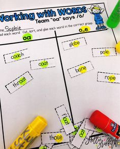 I love word work activities that are engaging and fun! This bundle includes all phonics patterns... You are set for the year!