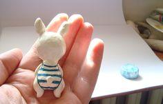 Lazar: Papier Mache Bunny