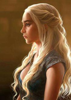 Amazing khaleesi game of thrones hairstyle ideas 45