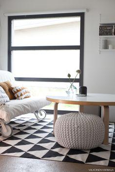 Living room, wonderful #footstool