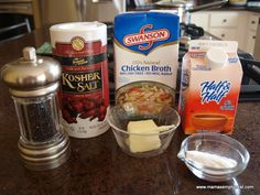 Homemade Gluten Free Cream of Chicken Soup