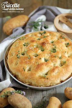 Focaccia di patate ricetta e foto