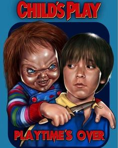 Best Horror Movies, Horror Films, Scary Movies, Good Movies, Horror Icons, Horror Movie Posters, Scary Chucky, Chucky Movies, Childs Play Chucky