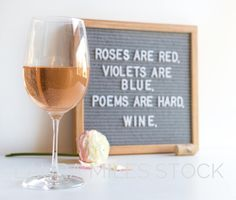 Funny Valentines Stock Photo / Valentines Stock Photography / Letterboard Stock Photo / Wine Humor / Social Media Photo