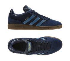 adidas Busenitz-Collegiate Navy-Gum-St Stonewash Blue