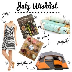 July Wishlist! What are you loving this month?
