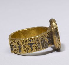 Marriage Ring with Scenes from the Life of Christ, 6th century