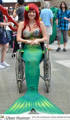 Ariel, out of the water