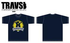TRAVS 8 T-shirt No,07 by SVART    60$