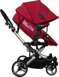 My Englacha Easy (Red)  #baby #stroller #parents #pram #supremestroller #pushchair
