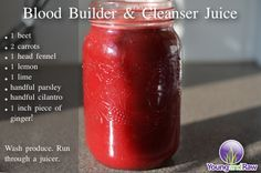 Blood Builder & Cleanser Juice