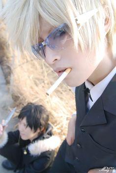DRRR!!! ~.~ Shizuo Heiwajima ~.~ Cosplayer ♥ Akatsuki Tsukasa