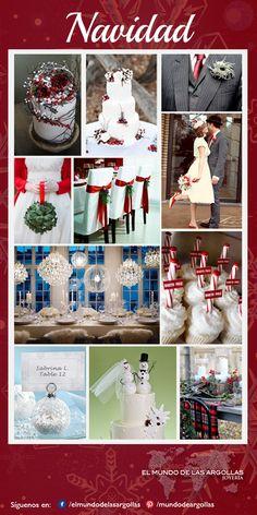#IdeasParaTuBoda  Diciembre es una hermosa época para casarte , aprovecha la infinidad de colores, adornos, velas  y otros accesorios para decorar de manera muy original tu boda, agregar detalles  como nochebuenas, árboles de navidad, bastones, copos de nieve, nochebuenas, esferas…