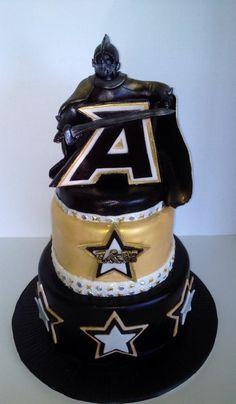 Westpoint Black Knight Groom's cake by The Vagabond Baker