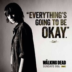 the walking dead, chandler riggs, and twd image Carl The Walking Dead, Walking Dead Quotes, Just Keep Walking, Walking Dead Zombies, Walking Dead Season, Chandler Riggs, Carl Grimes, The Walking Dead Merchandise, Dead Inside