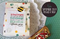 Visiting Teaching Message & Treat: September 2014
