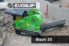 The Bison 35 is our most compact mobile jaw crushing plant, providing an ideal solution for construction companies and contractors who want to recycle their construction and demolition waste onsite. The ability to adjust the jaw setting and operate the plant fully from the remote control allows for a fast and simple set up for the customer. With its intuitive operation, quick set-up times, compact size and ease of transport the Bison 35 the ideal solution for all small scale jobs.