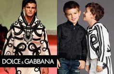 Dolce & Gabbana Milan Fashion Week Boys Matador Brocade Outfit SS15