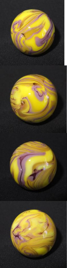Marbles 58799: Vintage 1 Swirl Shooter Marble ~ Signed Jm ~ Mint -> BUY IT NOW ONLY: $12 on #eBay #marbles #vintage #swirl #shooter #marble #signed Swirl Design, Glass Marbles, Glass Paperweights, Paper Weights, Gems, Mint, Antiques, Pretty, Vintage