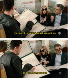 "And when Moira perfectly summed up 2016 for everybody. | 19 Times ""Schitt's Creek"" Was The Best Canadian Show On TV"