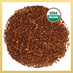 Organic Rooibos has a mild flavor and soft citric sweetness, is smooth, rounded and will not become bitter. Enjoy velvety Rooibos hot or cold any time of day.