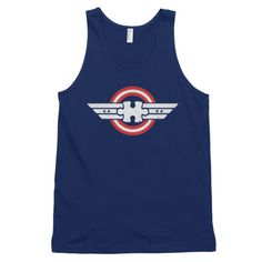 Autism T-Shirts Captain Autism Superhero Classic tank top (unisex)