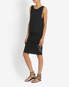 Helmut Lang Faint Slinky Sleeveless Dress