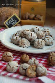 Piece of me: Popękane ciasteczka orzechowe Piece, Cereal, Cookies, Baking, Breakfast, Cake, Food, Polish, Recipes