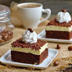 Beyaz Çikolatalı Brownie Pasta   Pembe Cup Cake